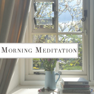 Collections Morning Meditation