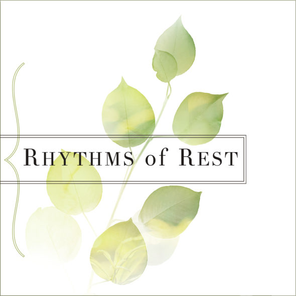 Rhythms of Rest cover - Section Header with border